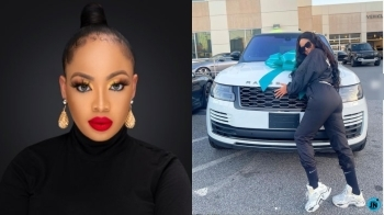 BBNaija's Nina Knocks follower who called the Range Rover gift from her husband 'FAKE'
